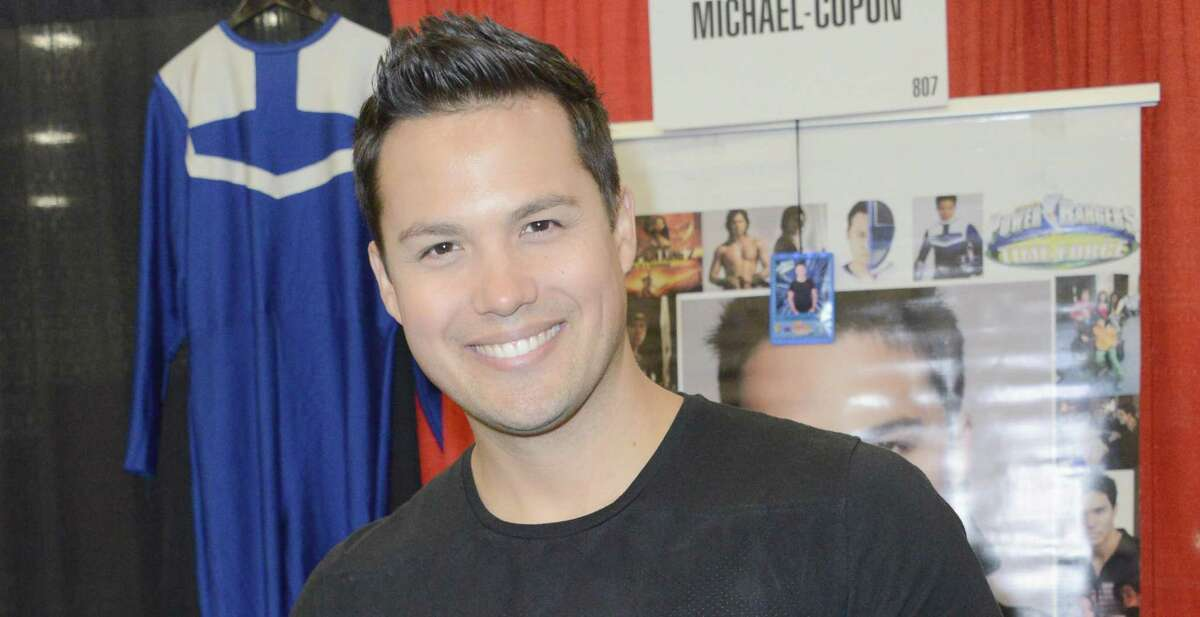 Michael Copon, who played the Blue Time Force Ranger, will attend a Power Rangers watch party in Schertz.