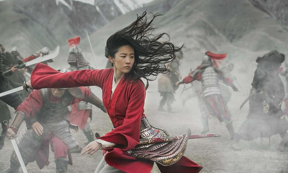 "Yifei Liu as the title character in ""Mulan."" Photo: Jasin Boland, Walt Disney Studios Motion Pictures"