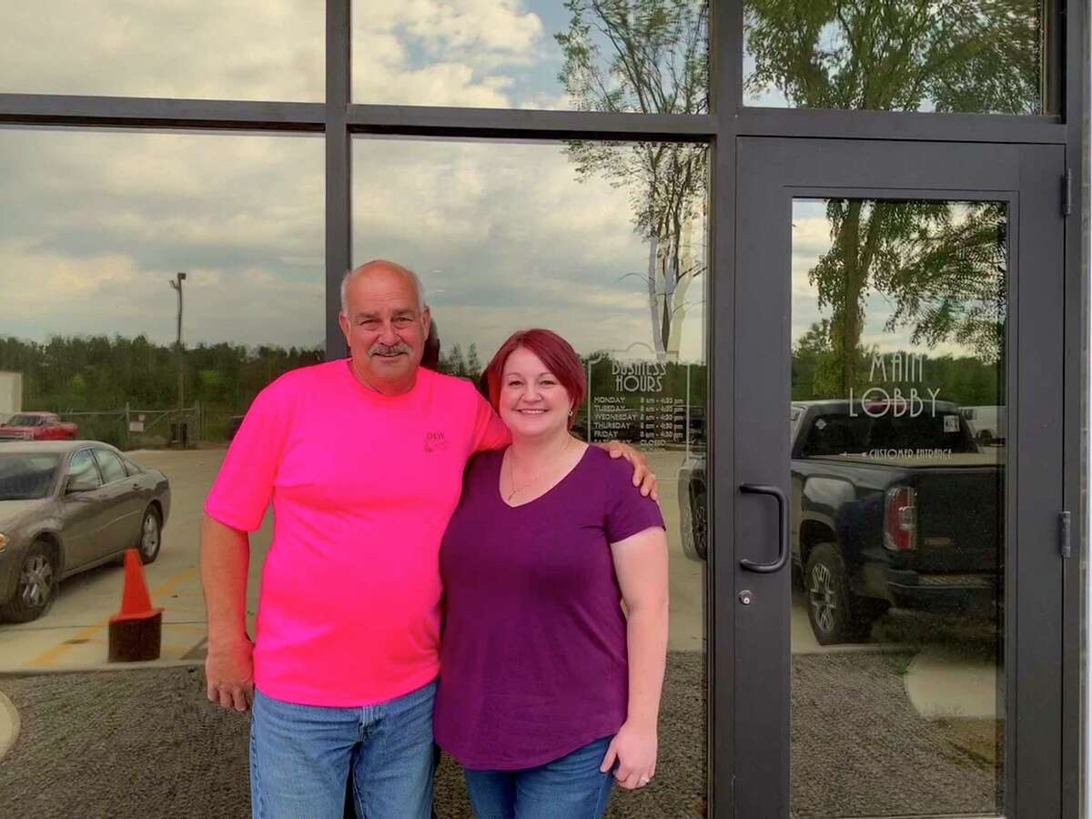 Bryan Deering has created a salvage empire since the creation of D&W Salvage 46 years ago and it will continue on with his daughter, Angie terSteeg, and her involvement in the business. (Paige Withey/Huron Daily Tribune)