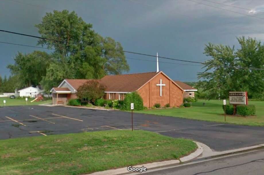 The Beaverton Church of God congregation, located at 3987 M-18, dissolved and rejoined with Eagle Ridge Church of God in Midland. The old building will be used as community center. (Screen photo/Google)