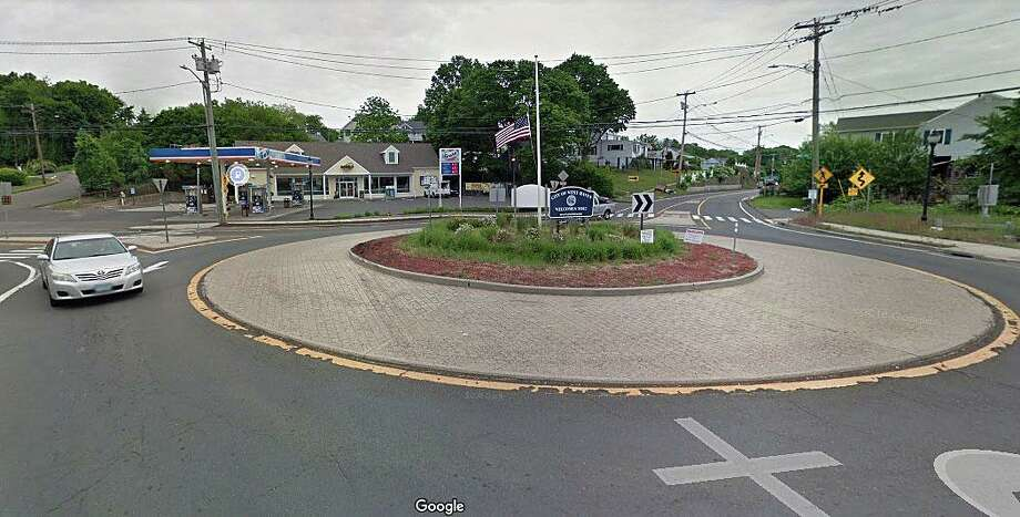 The roundabout of routes 162 and 705 (Ocean Avenue) in West Haven is about to get an upgrade after years of being battered by trucks and heavy traffic. The project - set to begin next week - includes work to upgrade the roundabout to accommodate larger trucks. Photo: Google Street View Image