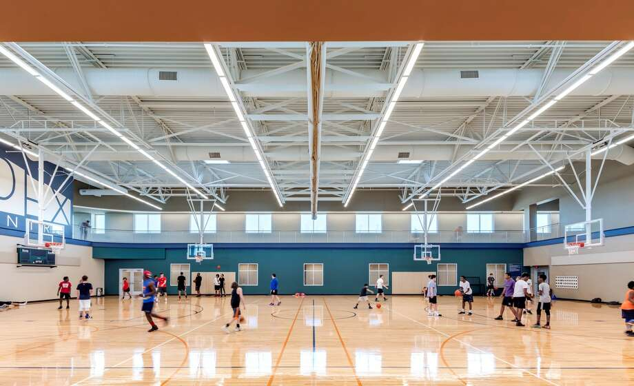 A rendering shows what the gymnasium would look like in a proposed new recreation center for the city of Deer Park. The project would be funded through the city's ½-cent economic development sales tax. The city did not include a ballot item for the reauthorization of the tax on the November ballot because of dropping revenue due to COVID-19 but might present it in a referendum next May. Photo: Courtesy City Of Deer Park