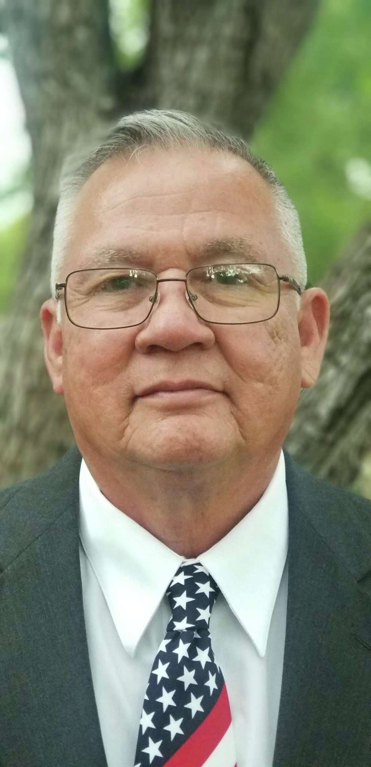 Gabriel Lara, 64, is running as a Republican for Bexar County commissioner in Precinct 1