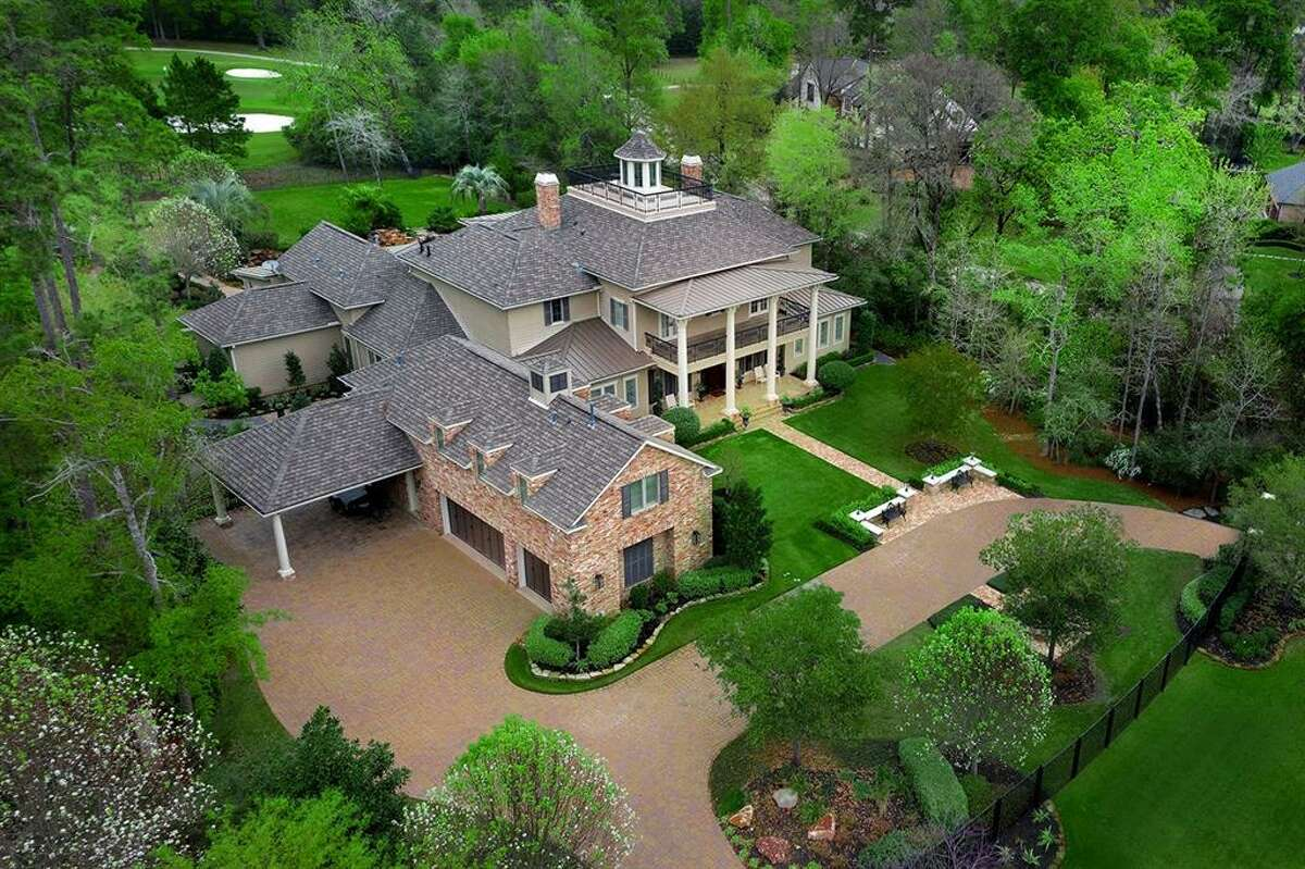 The No. 10 most expensive home sold in August can be found in The Woodlands at 19 Sterling Dale Place.