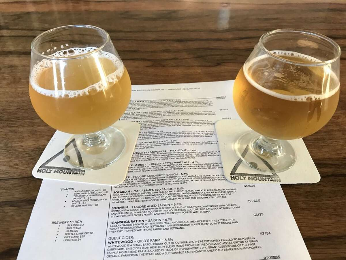 While you'll have to make reservations online to sit at their beer garden, Holy Mountain just put their new Fresh Hop Strata Infused People Power Pale Ale on tap. Better make those reservations early because once the Seattle beer snobs get wind of this release, they'll be packing the place.