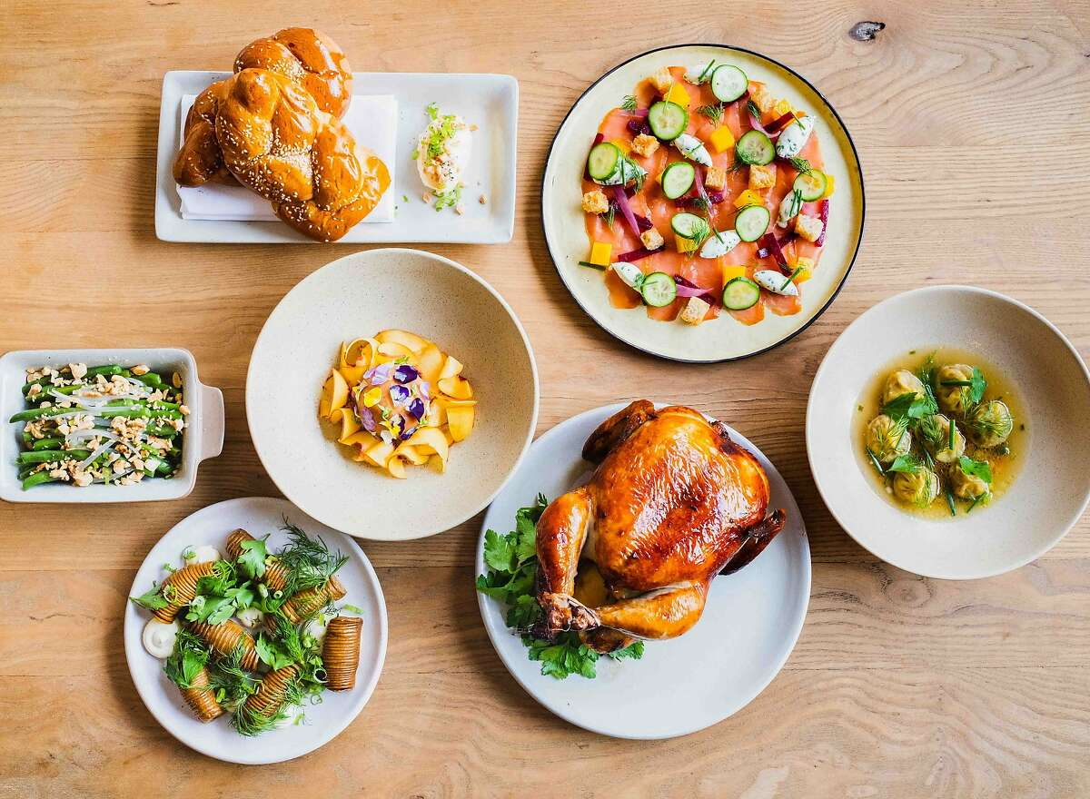 San Francisco's Schmaltz, a pop-up by chef Beth Needelman, is celebrating Rosh Hashanah all September long with a five-course holiday meal for two.