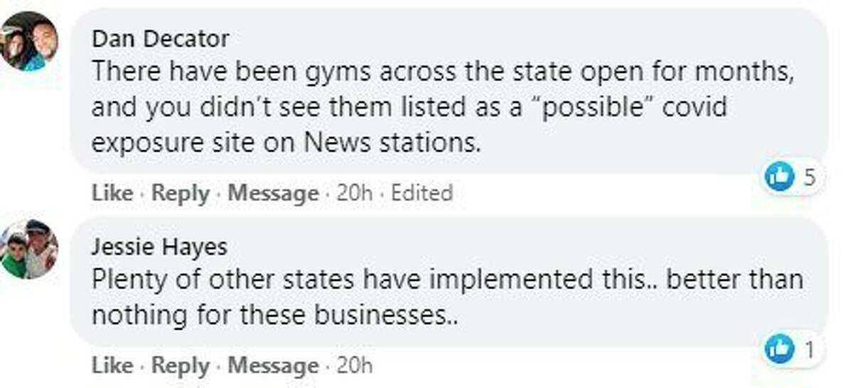 The Pioneer recently asked Big Rapids residentsif theyareconcerned about being back at area gyms and the new restrictions that could be in place. Here are some of their responses.