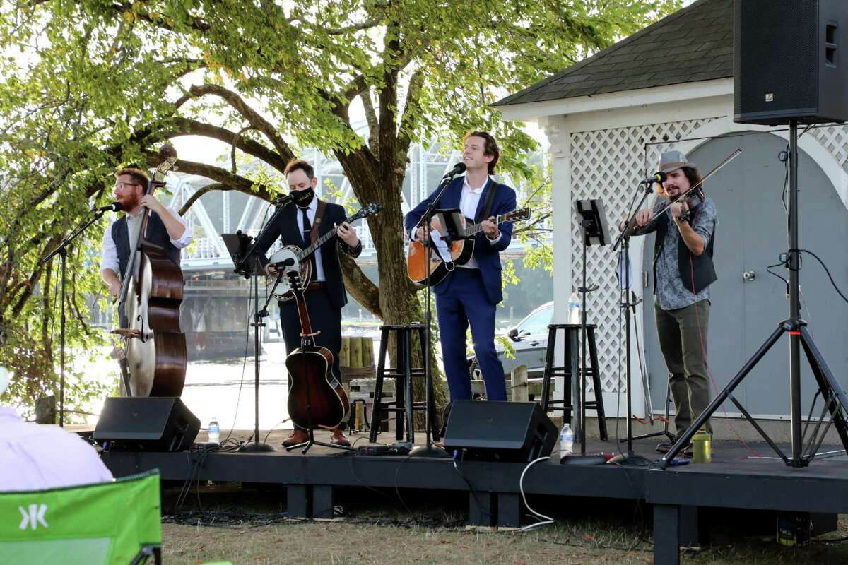 The Playbillies performed in August at the Goodspeed concerts.