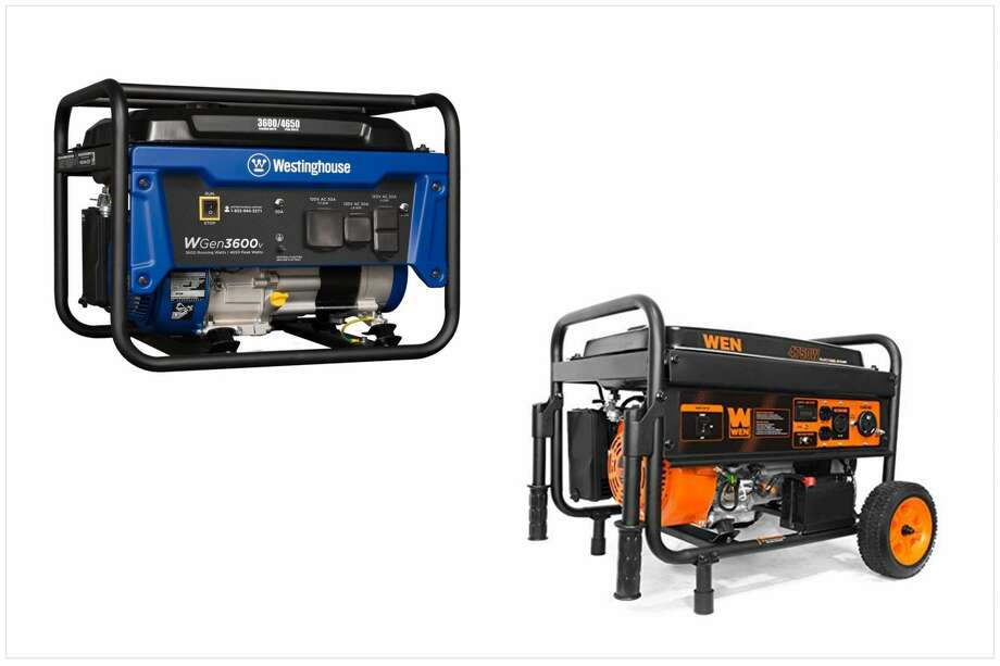 Generators are one of the best purchases you'll make this hurricane season. Photo: Lowes And Amazon