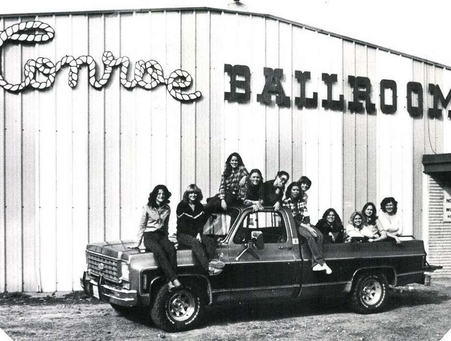 The Conroe Ballroom was in existence from 1966 through the mid-1980s on Gladstell Street in Conroe. Many up-and-coming country music stars got their start at the Conroe Ballroom. Photo: Photo From The 1981 Flare Yearbook / Conroe High School