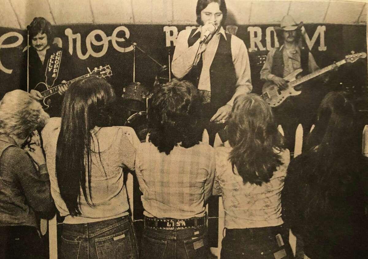Roy Head and band playing at the Conroe Ballroom.