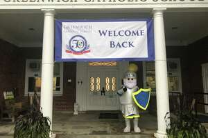 Greenwich Catholic School welcomes its students back for a new school year last week.