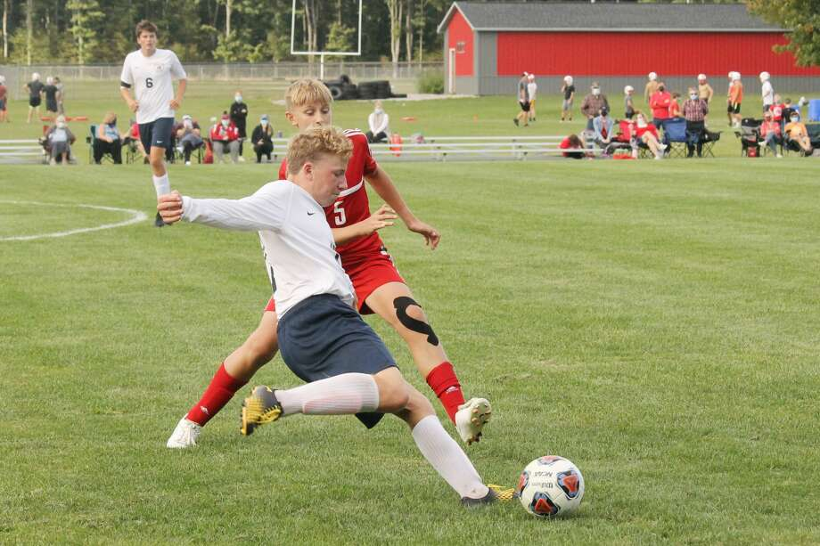 The Michigan High School Athletic Association was able to clear competition statewide on Thursday for volleyball, boys soccer and girls swimming/diving. The MHSAA also reinstated the football season for the fall. (News Advocate file photo) Photo: News Advocate File Photo