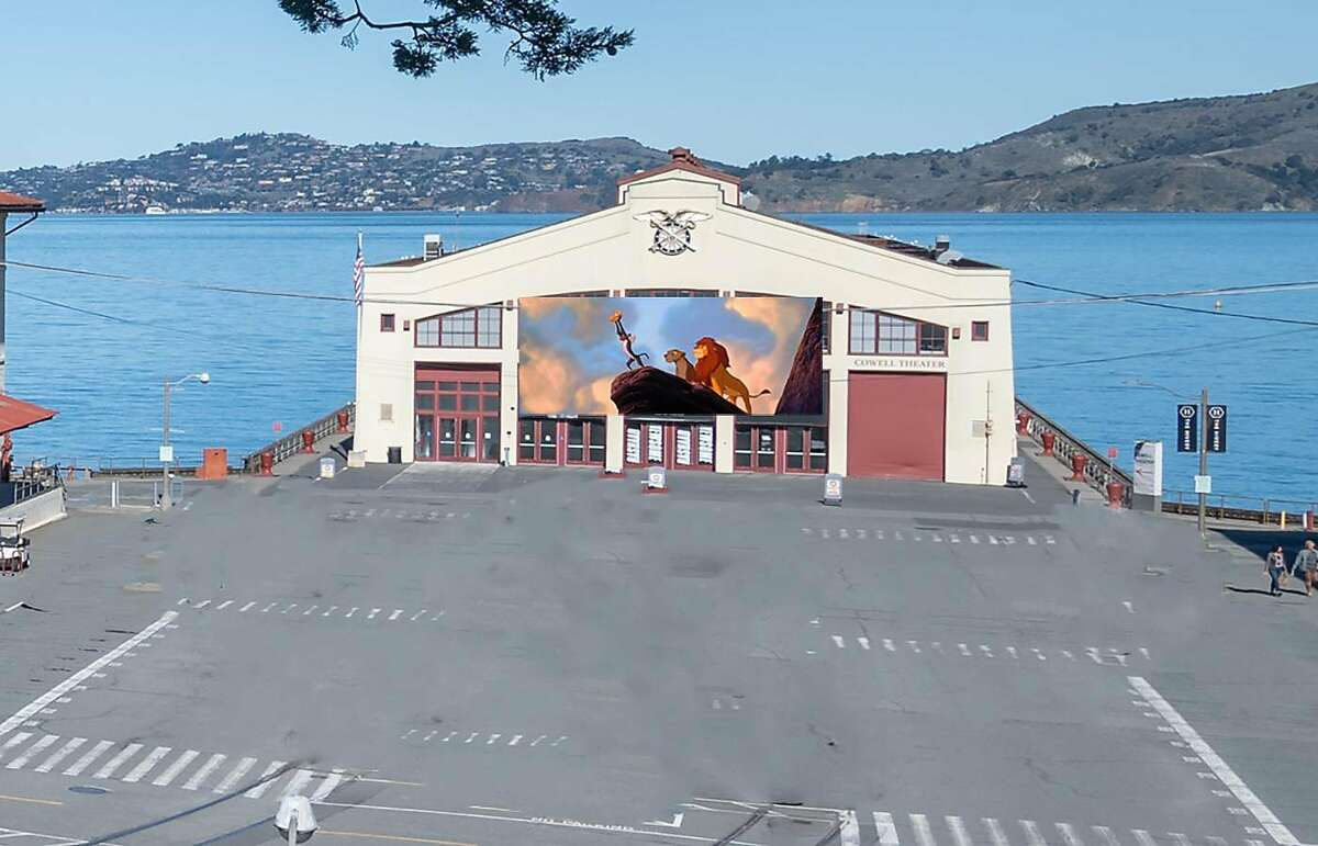 Fort Mason is home to San Francisco's first pop-up drive-in theater, called Fort Mason Flix.
