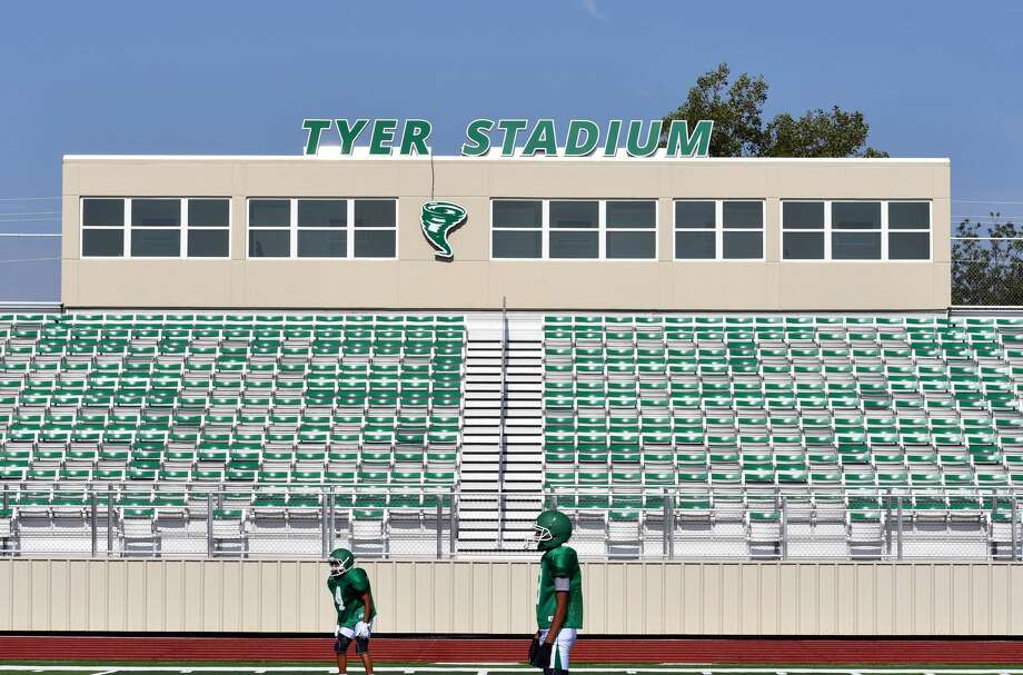 Floydada Collegiate Independent School District is set to dedicate its new football stadium to the late Coach Charles Tyer in a special presentation Friday during the district's homecoming. Photo: Nathan Giese/Plainview Herald