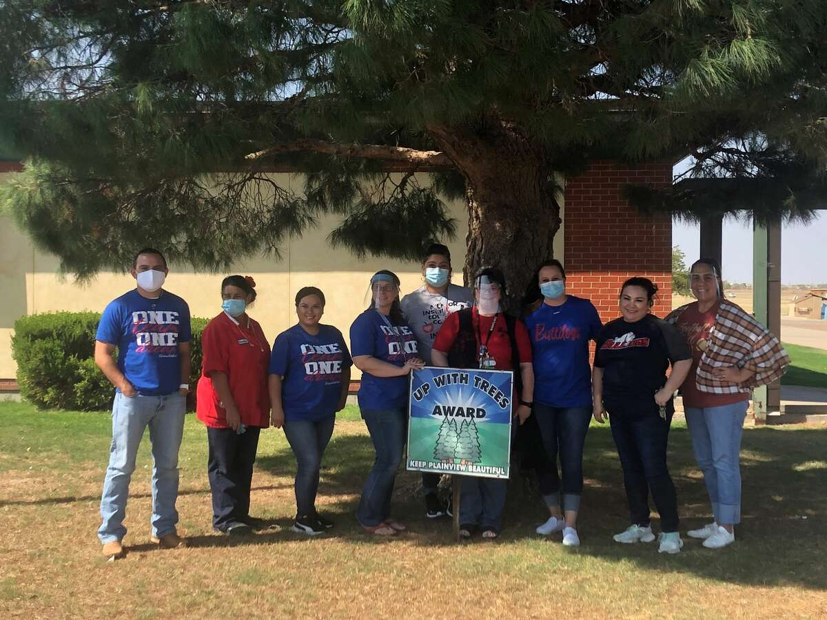 Keep Plainview Beautiful - August 2020 Up With Trees - Thunderbird Elementary