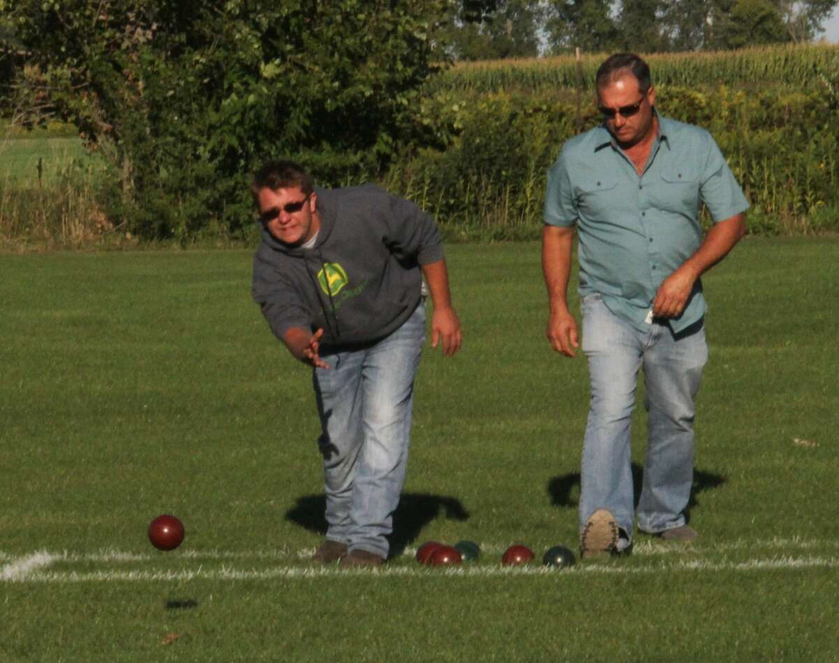 It was a beautiful evening in Elkton on Friday as a crowd descended on Century Oaks Golf Course for the inaugural Elkton Lion Parks and Rec Bocce Ball Tournament.