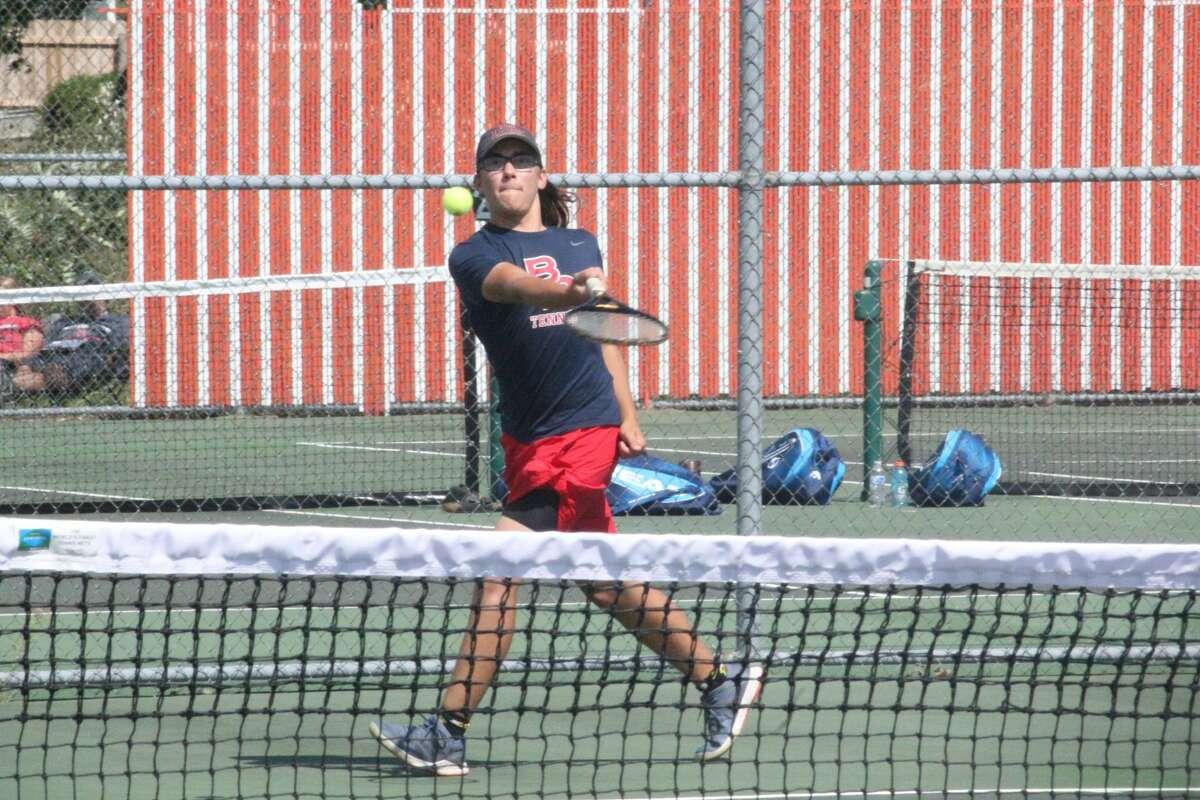 Big Rapids boys tennis team takes second place at the Cedar Springs quad on Thursday.