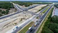 Coronavirus pandemic helps cut short U.S. 281 construction time on North Central side - Photo