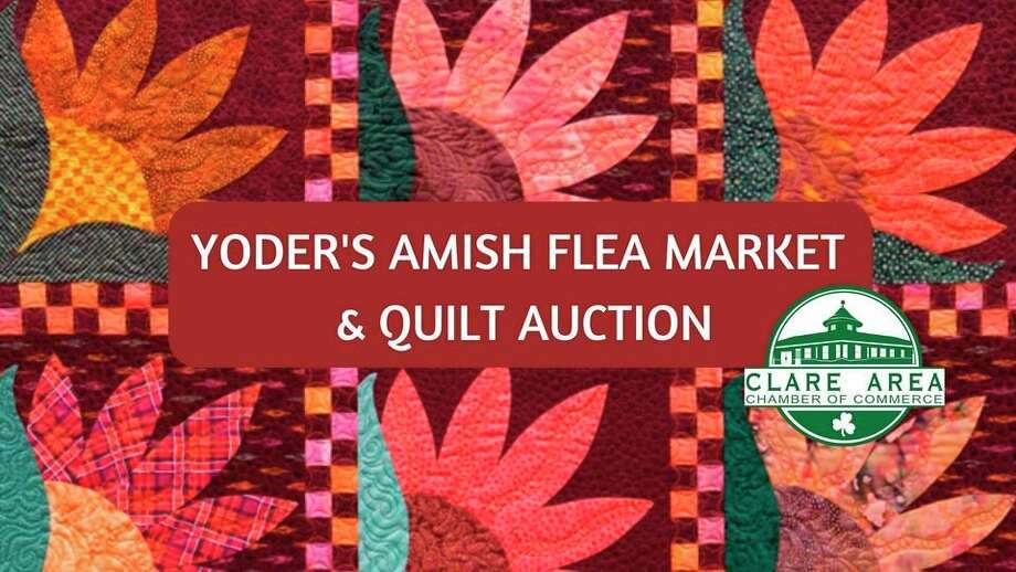 Saturday, Sept. 5: Yoder's Amish Flea Market & Quilt Auction, 10885 N Leaton Rd, Clare. (Photo provided)