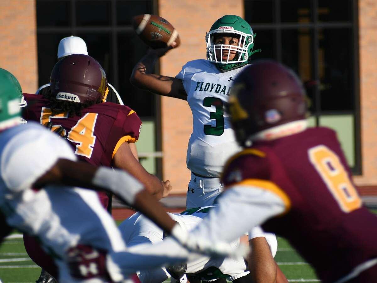 Floydada knocked off Kermit 22-6 in a non-district high school football game on Friday, Sept. 4, 2020 in Tyer Stadium in Floydada.