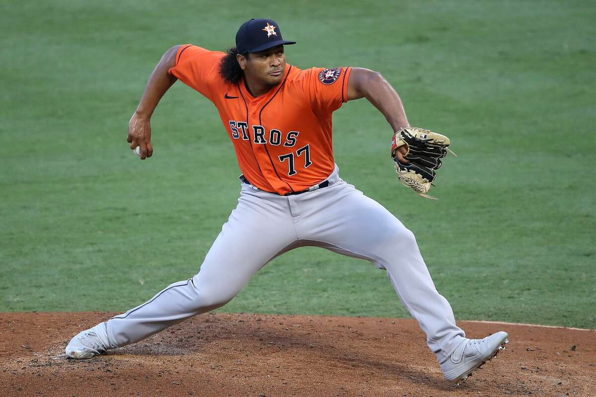 Luis Garcia had never pitched above Class A ball before this season, and he has thrown only 12.1 innings in the big leagues, but he will get the start for the Astros in a crucial Game 5 on Thursday.