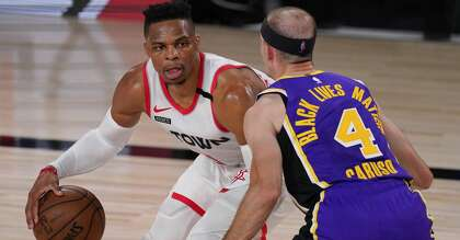 3 Pointers Takeaways From Rockets Game 1 Win Over Lakers Houstonchronicle Com