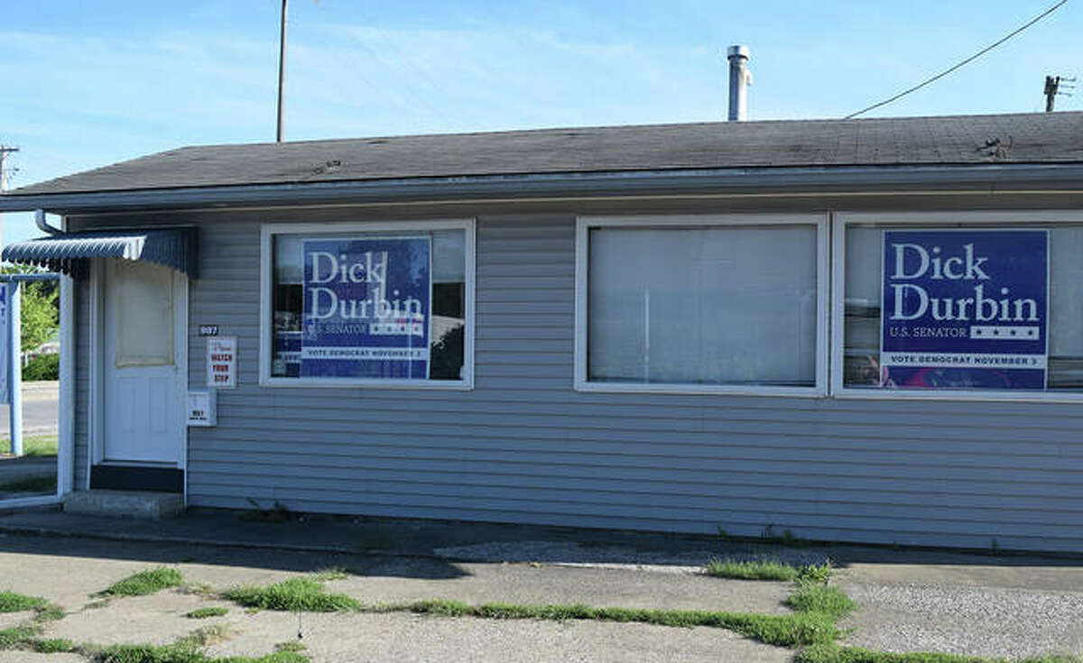 Morgan County Democrats will open its headquarters at 909 S. Main St. today.
