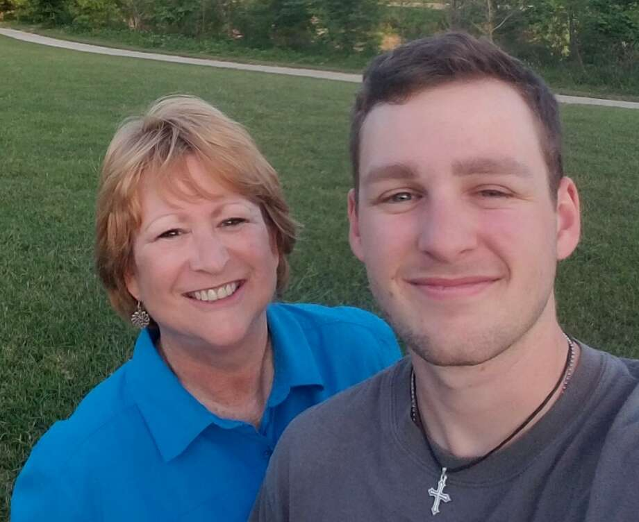 Cypress resident Anne Imber takes a photo with her son Tristan Edgar, who was diagnosed with Type 1 diabetes in 2009 at the age of 12. Photo: Courtesy Of Anne Imber / Provided By Kimberly Pace, 9th Wonder