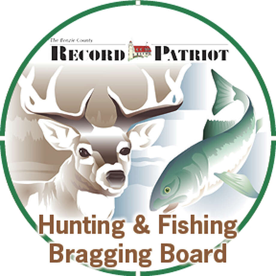 Submit photos for the Benzie County Record Patriot Hunting & Fishing Bragging Board to advocate@pioneergroup.com or on Facebook. Photo: Record Patriot Photo
