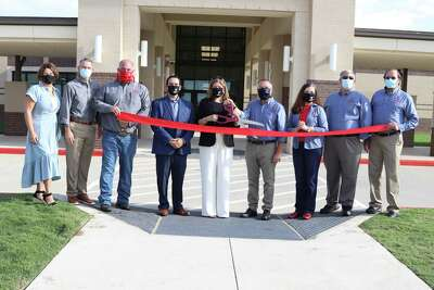 Tomball Independent School District held a special ribbon-cutting ceremony Friday, September 4, at Grand Oaks Elementary School and proceeded with a second event at Tomball High School Agricultural Science Project Center to celebrate the two facilities ahead of the 2020-21 school year.