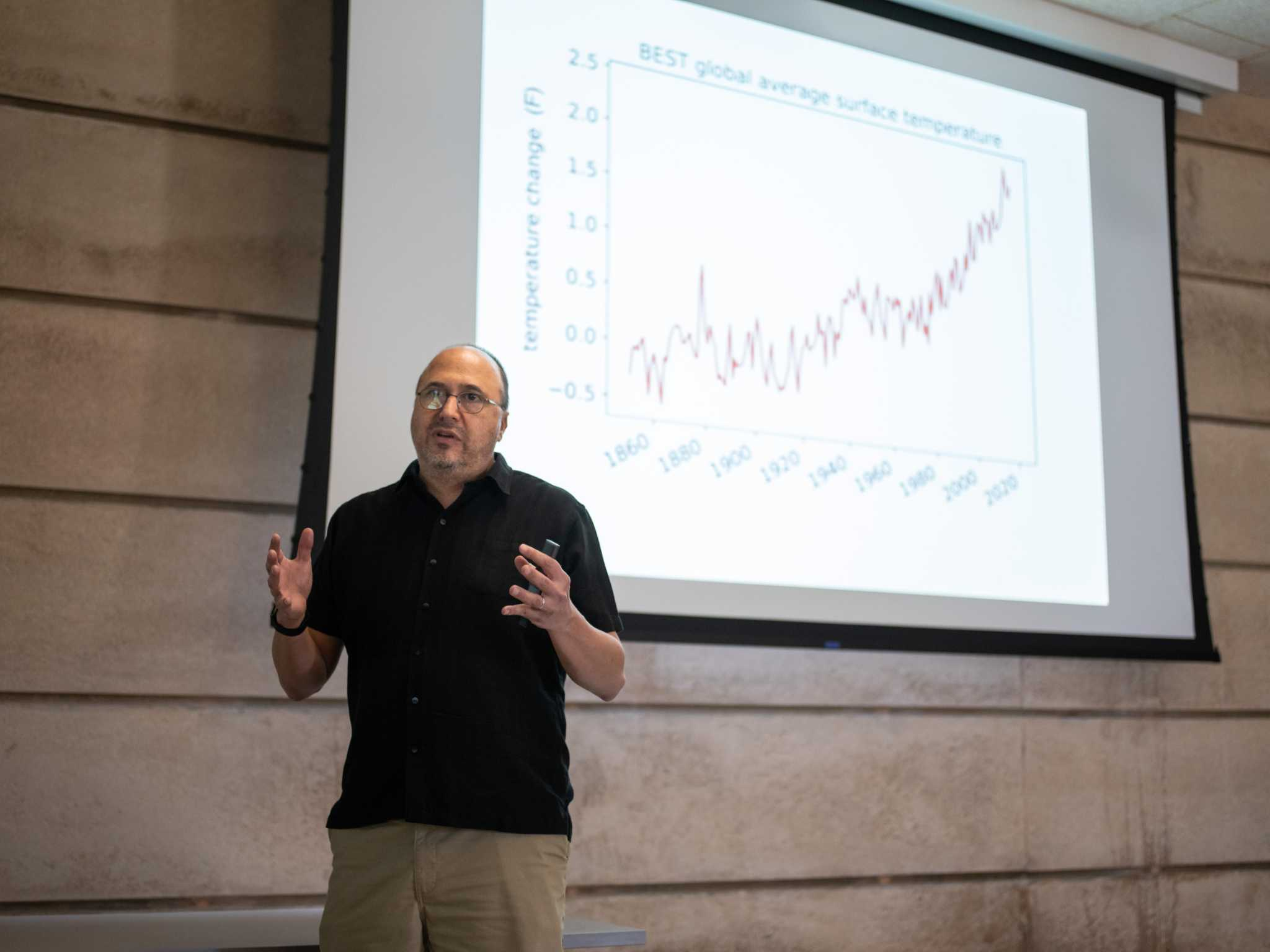 Scientist warns of economic costs of climate change - San Antonio Express-News
