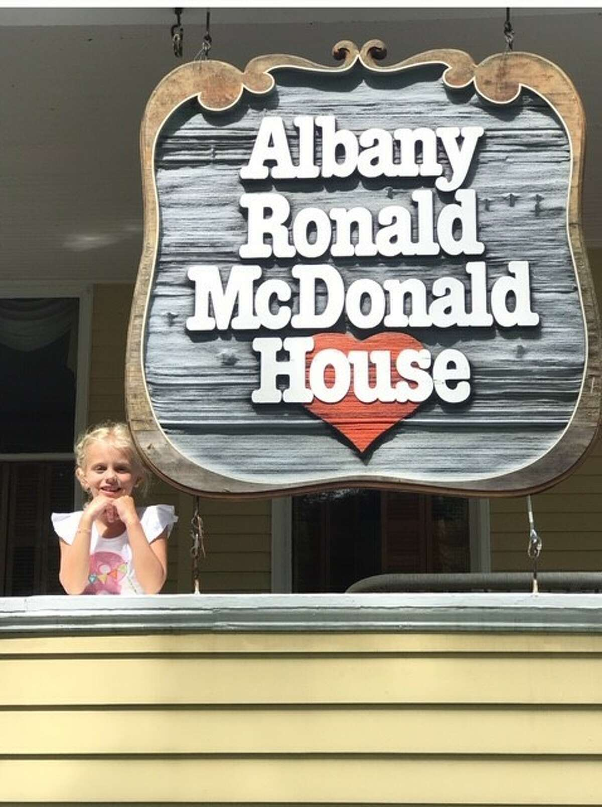 For her 8th birthday on Aug. 28, Ryhan Hotaling of Delmar wanted to have a virtual (and real) lemonade stand to raise money for the kids at the Albany Ronald McDonald House. With the help of her parents Lori and Chad Hotaling her lemonade stands were created for her birthday, and she raised more than $1,400 which she brought to the House. This photo was provided by her grandparents Dr. John and Linda Metallo of Slingerlands.