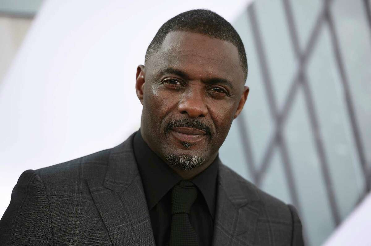 FILE - In this July 13, 2019, file photo, Idris Elba arrives at the Los Angeles premiere of