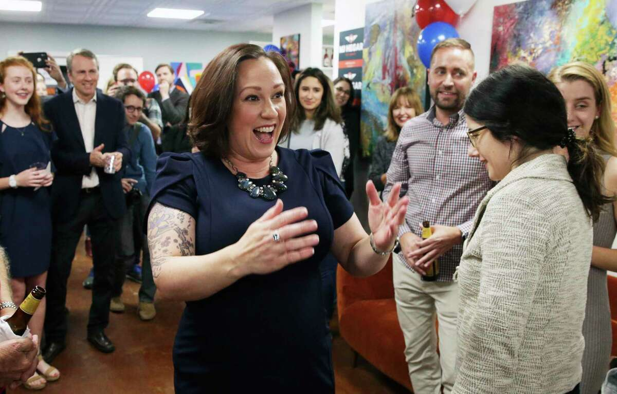 Hegar, a Democrat running against incumbent U.S. Sen. John Cornyn, owns five guns, including an assault-style weapon, but she believes carrying rifles in public intimidates people.
