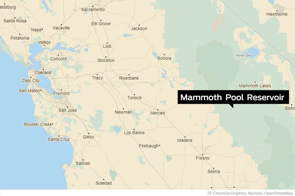 1,000 people have been trapped near Mammoth Pool in Fresno County.