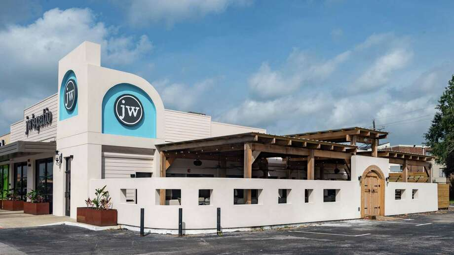 JW's Patio is the new restaurant/bar developed by John Wilson at 6420 Phelan Boulevard in Beaumont. It is a Mediterranean-inspired eatery with a focus on fun outside dining. Photo made on September 2, 2020.  Fran Ruchalski/The Enterprise Photo: Fran Ruchalski, The Enterprise / The Enterprise / © 2020 The Beaumont Enterprise