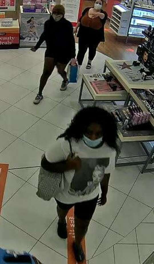 Milford police are seeking to ID 3 suspects in an alleged shoplifting case at Ulta Monday, Aug. 31. Photo: Milford Police / Contributed Photo / New Haven Register Contributed