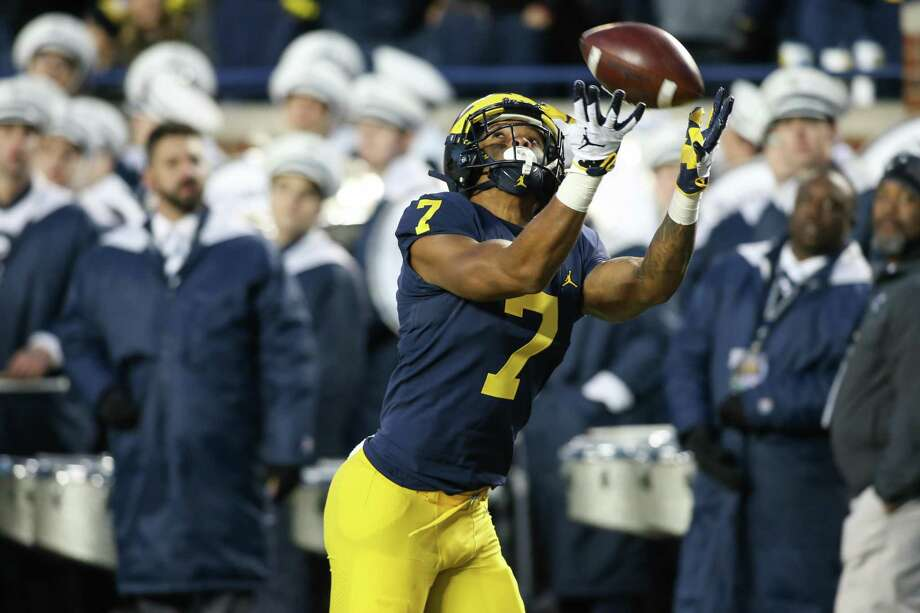 Tarik Black appeared in 21 games over three seasons at Michigan, finishing with 40 catches and two TDs. Photo: Icon Sportswire / Icon Sportswire Via Getty Images / ©Icon Sportswire (A Division of XML Team Solutions) All Rights Reserved ©Icon Sportswire (A Division of XML Team Solutions) All