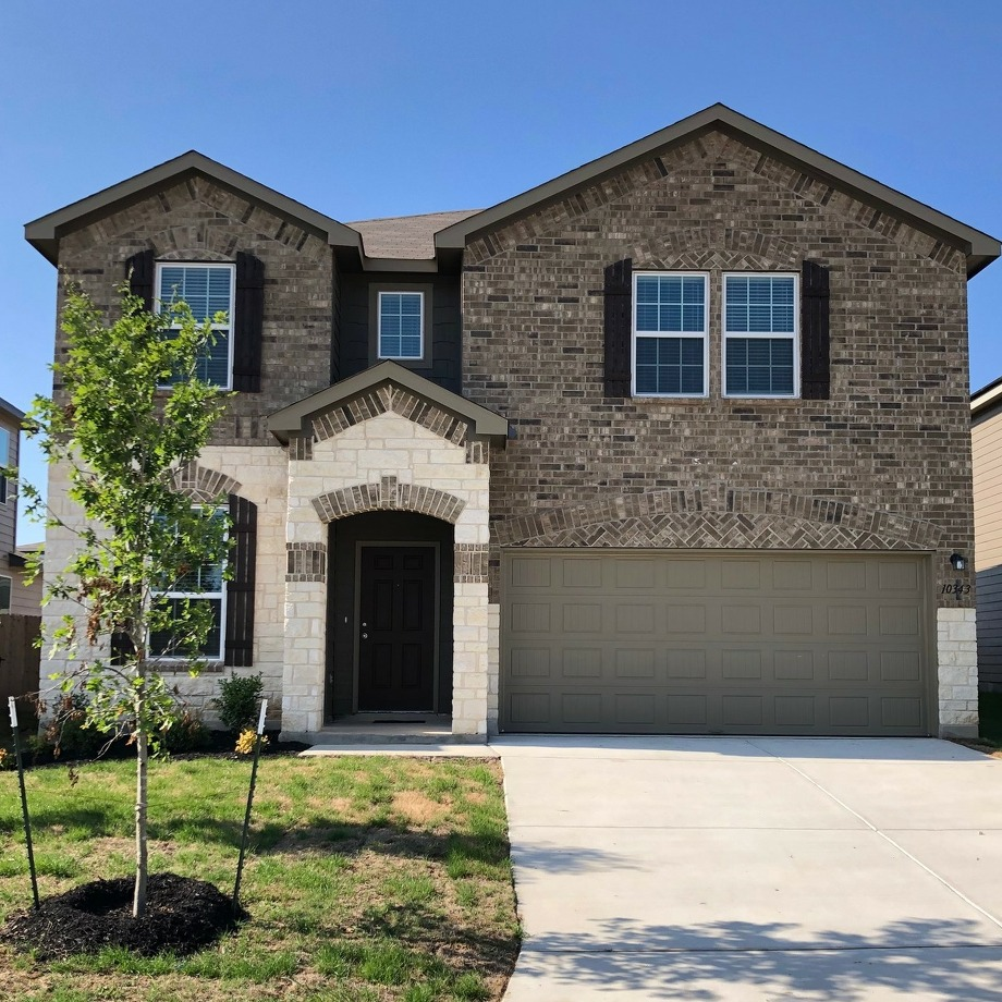The winner of the St. Jude Dream Home Giveaway will get this house at 10343 McQueeney, built by Centex. Photo: Centex