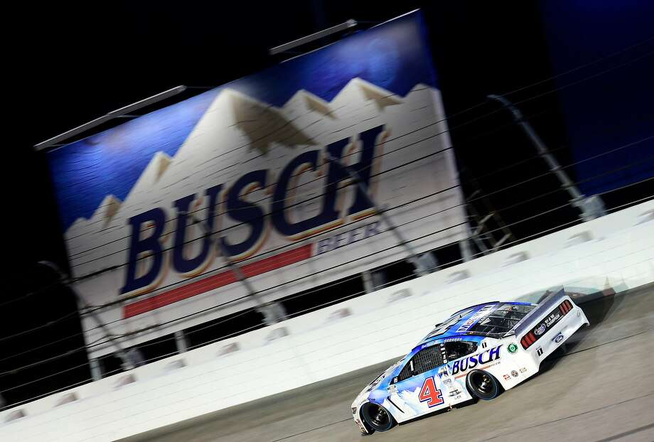 DARLINGTON, SOUTH CAROLINA - SEPTEMBER 06: Kevin Harvick, driver of the #4 Busch Beer Throwback Ford, drives during the NASCAR Cup Series Cook Out Southern 500 at Darlington Raceway on September 06, 2020 in Darlington, South Carolina. (Photo by Jared C. Tilton/Getty Images) Photo: Jared C. Tilton / Getty Images
