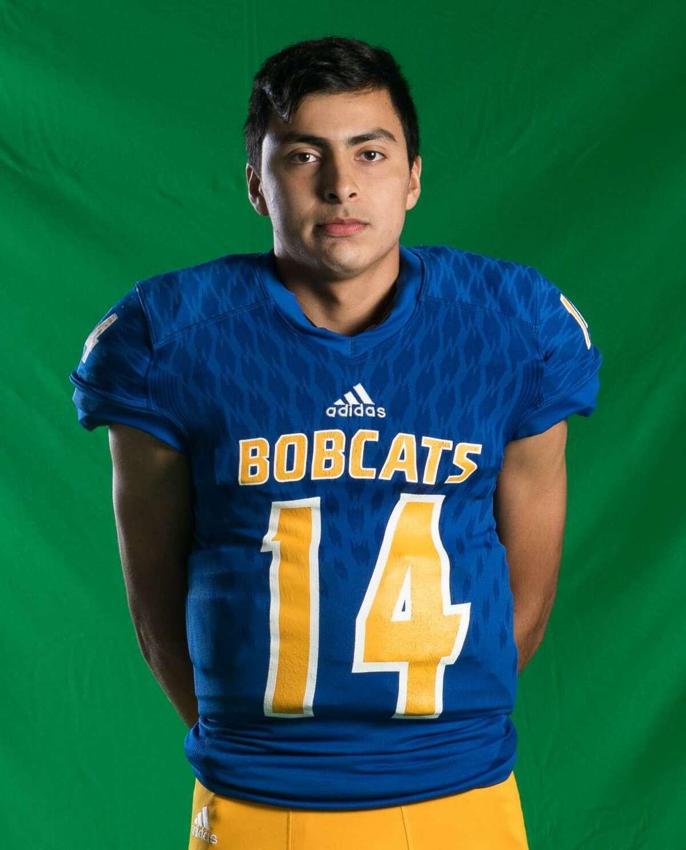 Oscar Falcon is a senior quarterback and kicker for Comfort.