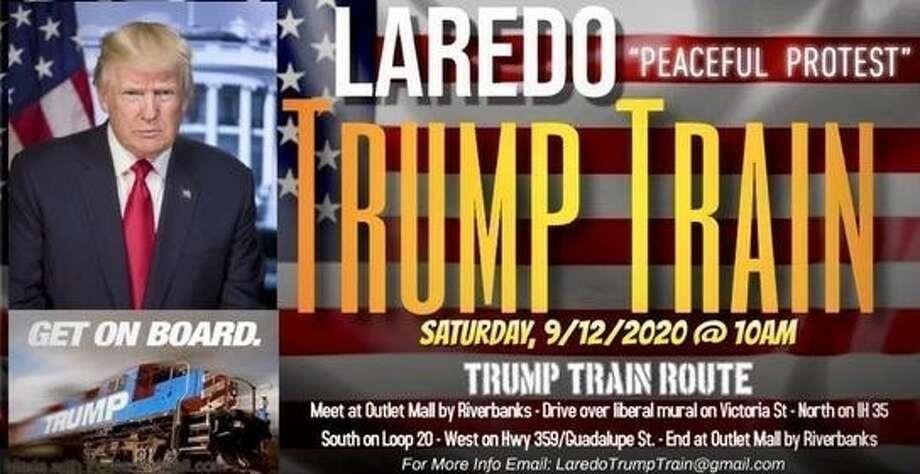 Laredo Trump Train Photo: Courtesy