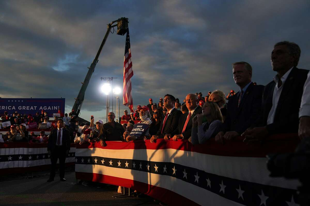 A reelection capaign rally for President Donald Trump in Latrobe, Penn., on Thursday, Sept. 3, 2020. Trump's campaign has spent $800 million. (Anna Moneymaker/The New York Times)