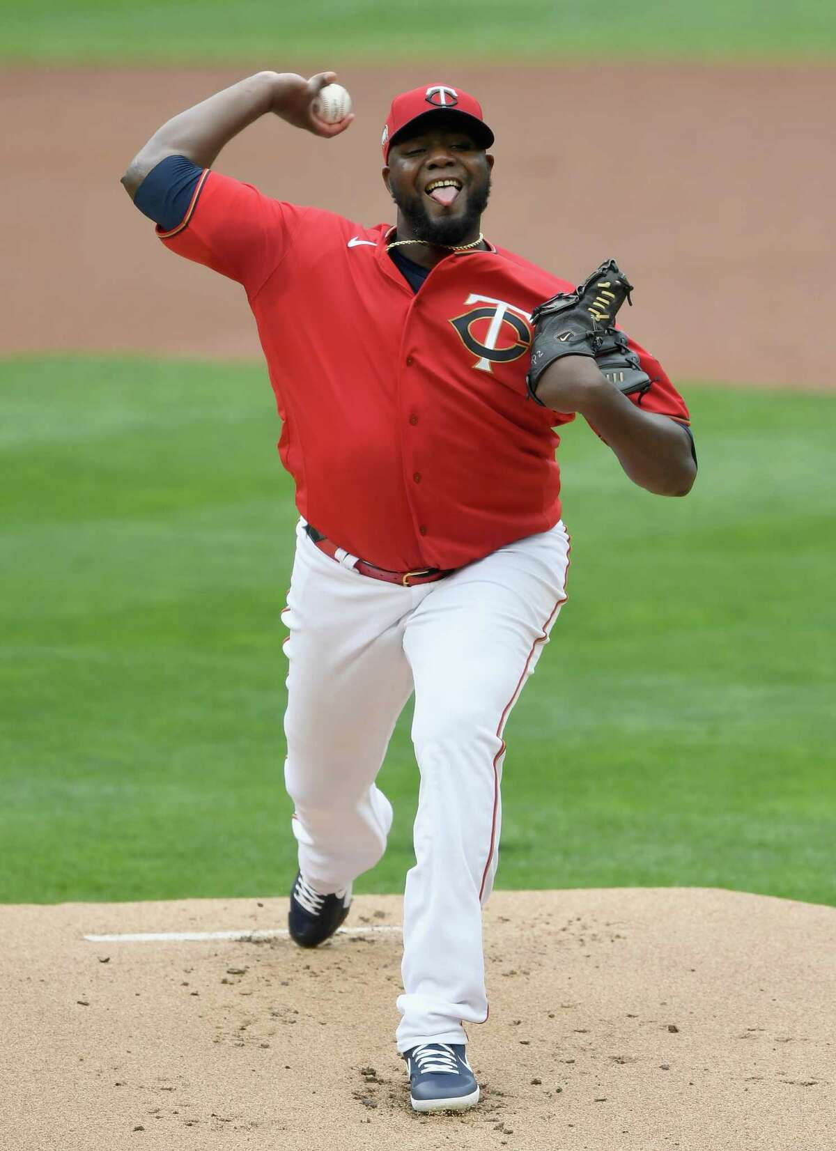 MINNEAPOLIS, MINNESOTA - SEPTEMBER 07: Michael Pineda #35 of the Minnesota Twins delivers a pitch against the Detroit Tigers during the first inning of the game at Target Field on September 7, 2020 in Minneapolis, Minnesota. (Photo by Hannah Foslien/Getty Images)