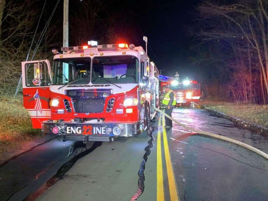 Brookfield's Engine 22 truck. Photo: Brookfield Volunteer Fire Company