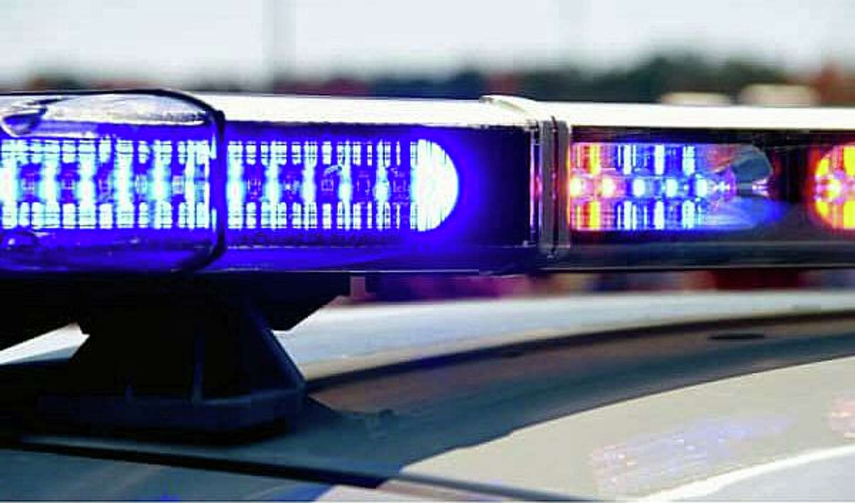 File photo of the lights on a Connecticut State Police cruiser.