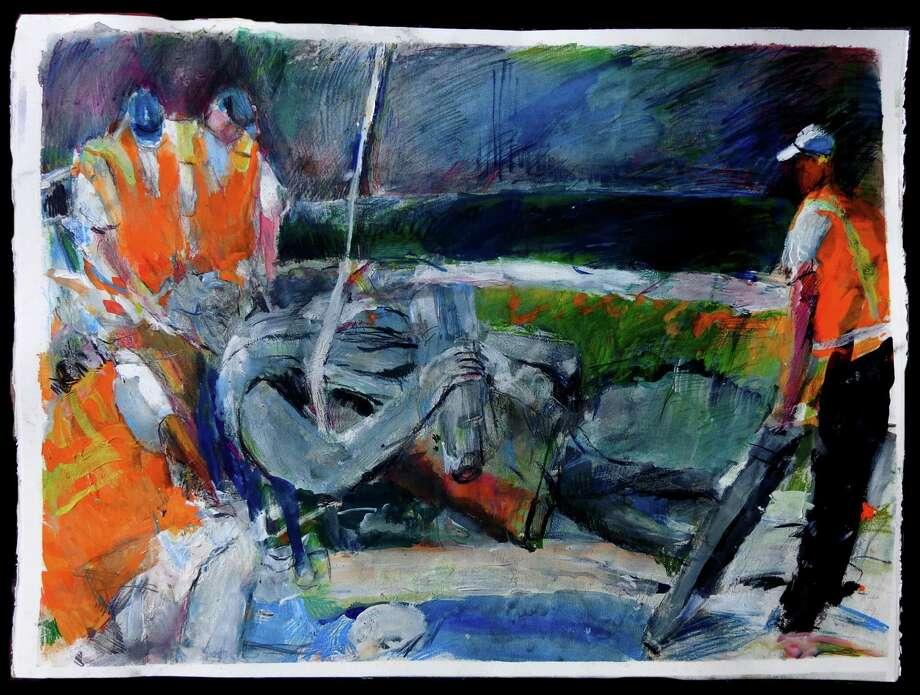 "Howard Skrill's ""Monumental Follies"" exhibit is available virtually at the Fairfield University Art Museum. Photo: Howard Skrill / Contributed Photo"