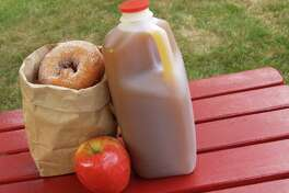 Apple cider doughnuts are a sweet and refreshing fall treat.