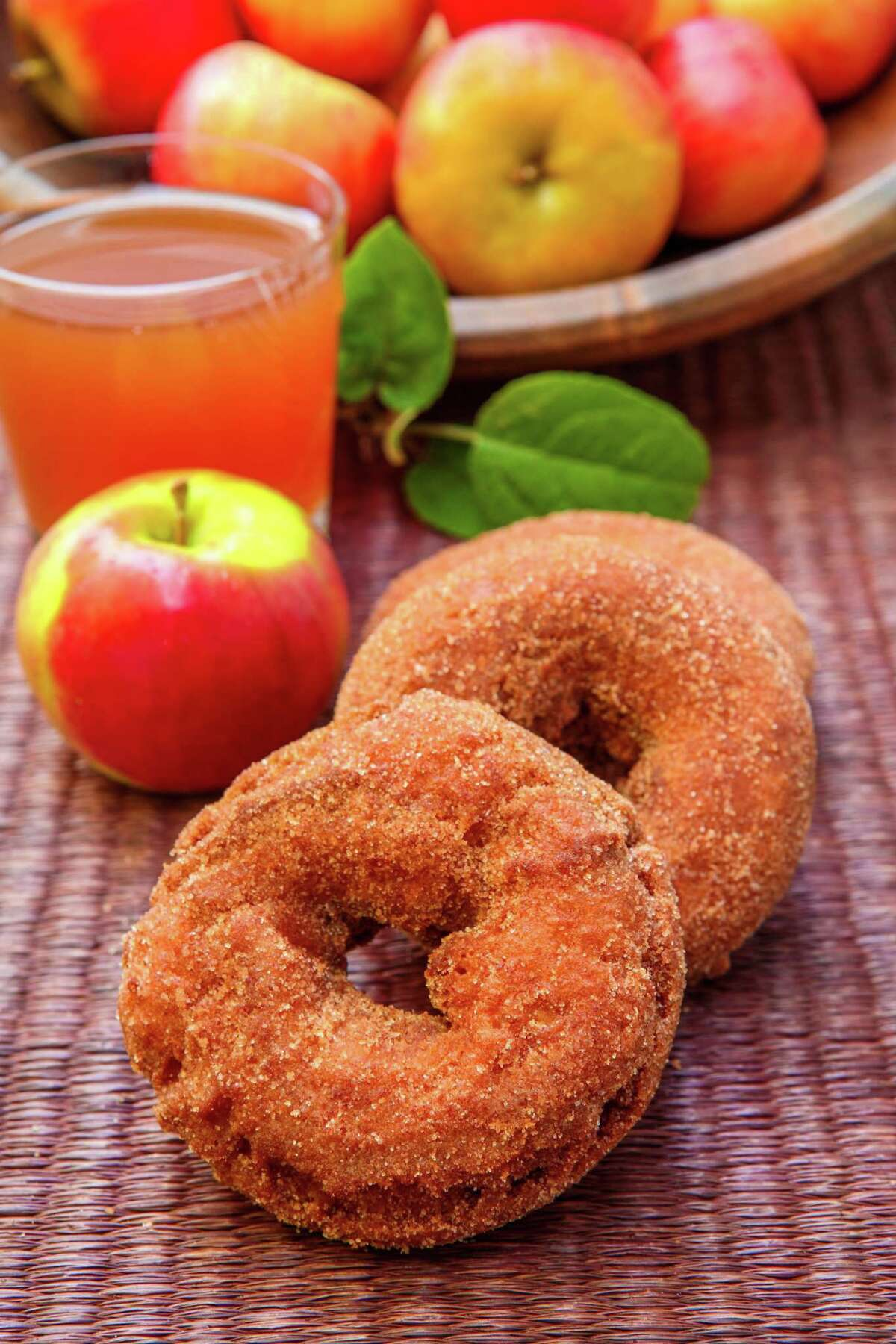 Apple cider doughnuts are a perfect September treat.
